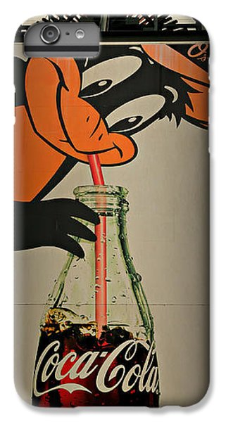 Coca Cola Orioles Sign IPhone 6 Plus Case