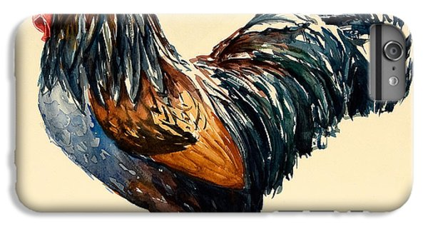 Cockerel IPhone 6 Plus Case by Alison Cooper