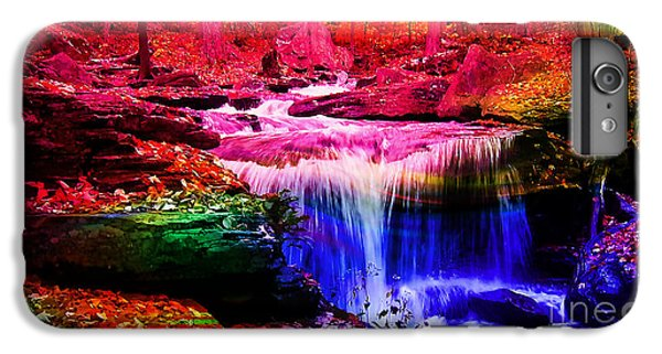 Colorful Landscape And Water Flow IPhone 6 Plus Case