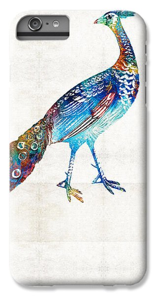 Colorful Peacock Art By Sharon Cummings IPhone 6 Plus Case