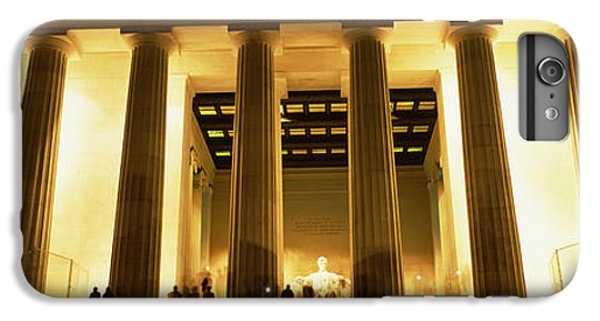 Columns Surrounding A Memorial, Lincoln IPhone 6 Plus Case by Panoramic Images