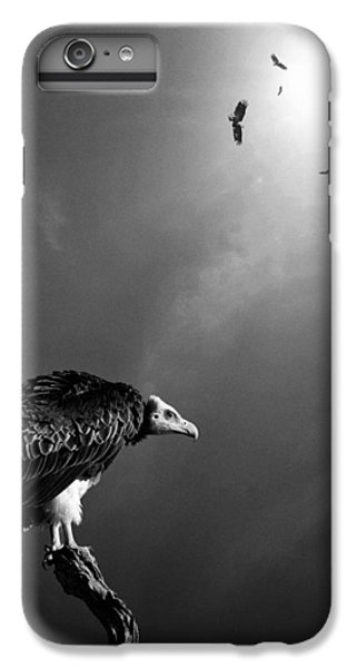 Conceptual - Vultures Awaiting IPhone 6 Plus Case by Johan Swanepoel
