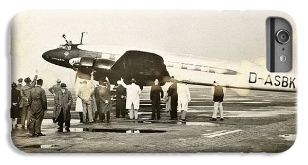 Condor iPhone 6 Plus Case - Condor Aircraft Before Take-off by Eye On The Reich: German Propaganda Photographs/new York Public Library