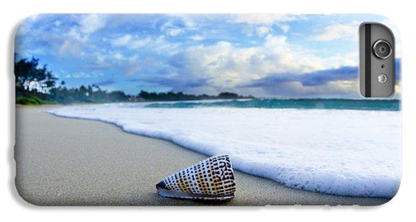 Beach iPhone 6 Plus Case - Cone Foam by Sean Davey