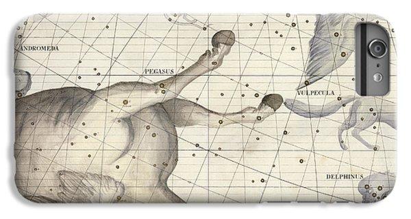 Pegasus iPhone 6 Plus Case - Constellation Of Pegasus by Sir James Thornhill