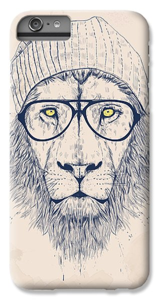 Animals iPhone 6 Plus Case - Cool Lion by Balazs Solti