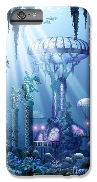 Coral City   IPhone 6 Plus Case
