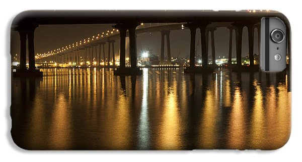 Coronado Bridge At Night IPhone 6 Plus Case by Nathan Rupert