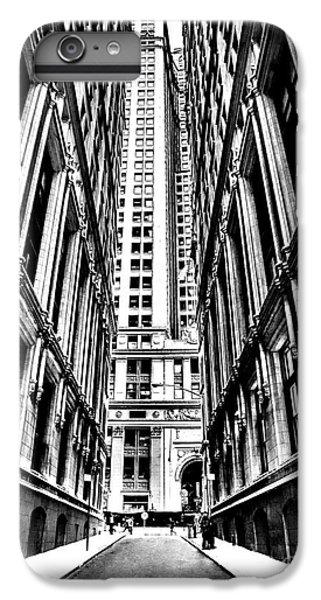 Times Square iPhone 6 Plus Case - Corporatocracy by Az Jackson