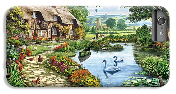 Cottage By The Lake IPhone 6 Plus Case by Steve Crisp
