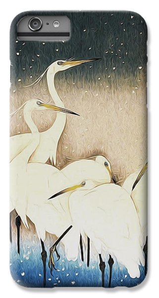 Cranes  IPhone 6 Plus Case by Shanina Conway