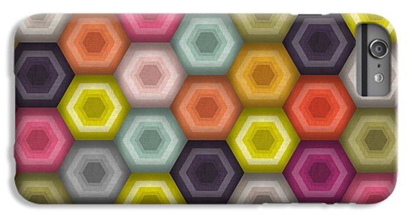 Crochet Honeycomb IPhone 6 Plus Case by Sharon Turner