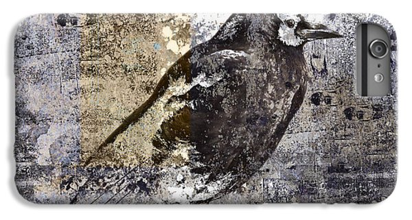 Crow Number 84 IPhone 6 Plus Case by Carol Leigh