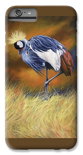 Crane iPhone 6 Plus Case - Crowned by Lucie Bilodeau