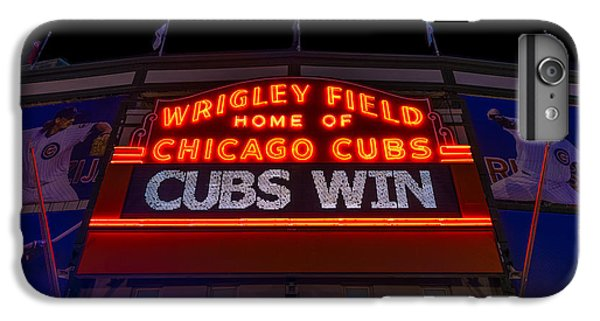 Cubs Win IPhone 6 Plus Case by Steve Gadomski