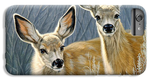 Deer iPhone 6 Plus Case - Curious Pair by Paul Krapf