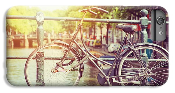 Bicycle iPhone 6 Plus Case - Cycle In Sun by Jane Rix