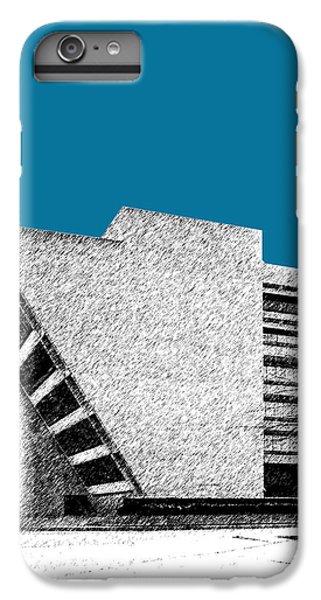 Dallas Skyline City Hall - Steel IPhone 6 Plus Case by DB Artist