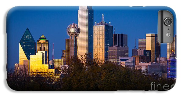 Dallas Skyline IPhone 6 Plus Case by Inge Johnsson