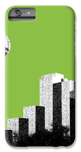 Dallas Skyline Reunion Tower - Olive IPhone 6 Plus Case by DB Artist
