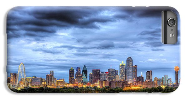 Dallas Skyline IPhone 6 Plus Case by Shawn Everhart