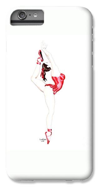 Dancer IPhone 6 Plus Case by Renate Janssen