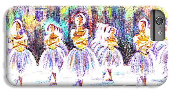 Dancers In The Forest II IPhone 6 Plus Case