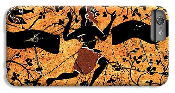 Bogdanoff iPhone 6 Plus Case - Dancing Man - Study No. 1 by Steve Bogdanoff