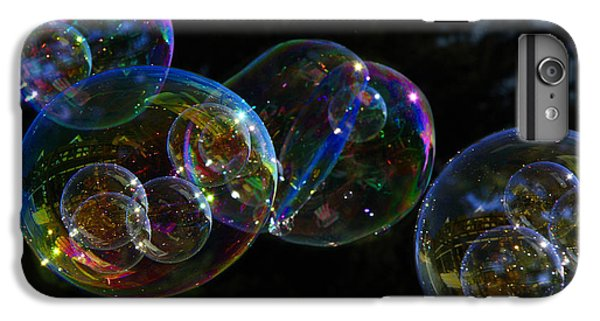Dark Bubbles With Babies IPhone 6 Plus Case by Nareeta Martin
