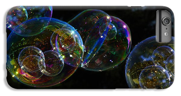 IPhone 6 Plus Case featuring the photograph Dark Bubbles With Babies by Nareeta Martin