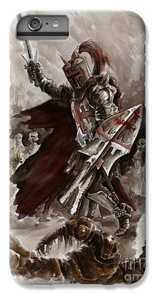 Dungeon iPhone 6 Plus Case - Dark Crusader by Mariusz Szmerdt