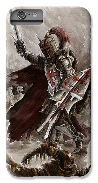 Dark Crusader IPhone 6 Plus Case by Mariusz Szmerdt