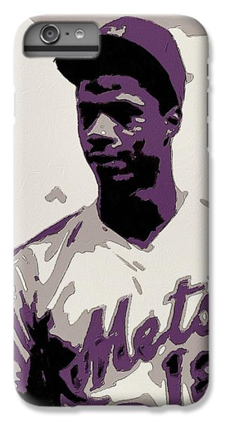 New York Mets iPhone 6 Plus Case - Darryl Strawberry Poster Art by Florian Rodarte
