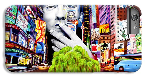 City Scenes iPhone 6 Plus Case - Dave Matthews Dreaming Tree by Joshua Morton