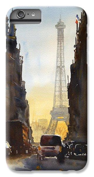 Dawn In Paris IPhone 6 Plus Case by James Nyika