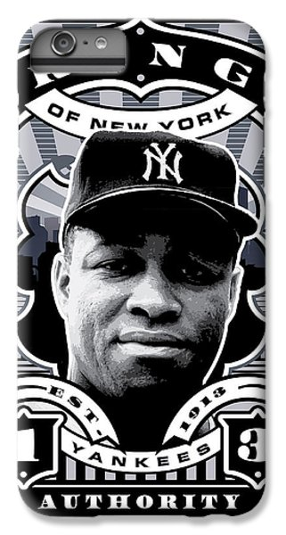 Dcla Elston Howard Kings Of New York Stamp Artwork IPhone 6 Plus Case by David Cook Los Angeles