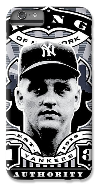 Dcla Roger Maris Kings Of New York Stamp Artwork IPhone 6 Plus Case by David Cook Los Angeles