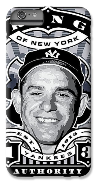 Dcla Yogi Berra Kings Of New York Stamp Artwork IPhone 6 Plus Case by David Cook Los Angeles