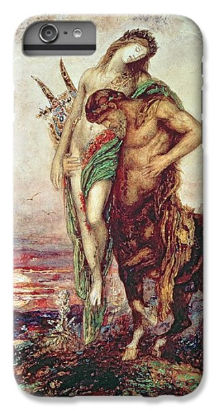 Dead Poet Borne By Centaur IPhone 6 Plus Case by Gustave Moreau