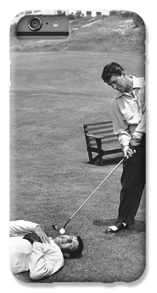 Dean Martin & Jerry Lewis Golf IPhone 6 Plus Case by Underwood Archives