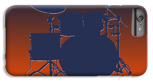 Denver Broncos Drum Set IPhone 6 Plus Case by Joe Hamilton