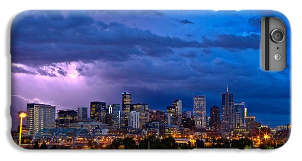 City Scenes iPhone 6 Plus Case - Denver Skyline by John K Sampson