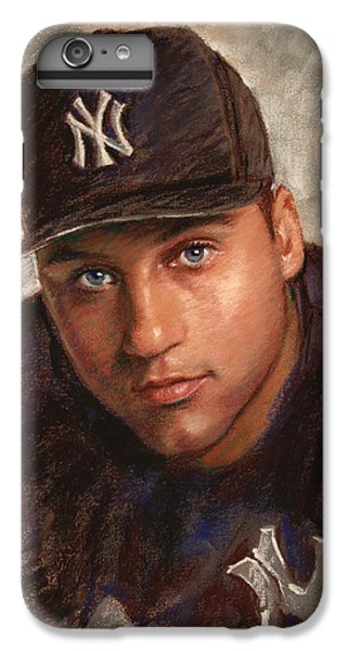 Derek Jeter IPhone 6 Plus Case by Viola El