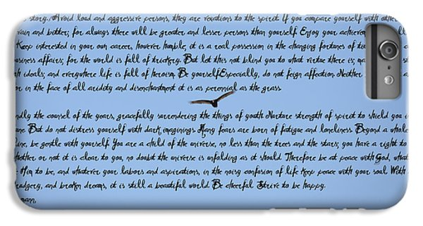 Desiderata IPhone 6 Plus Case