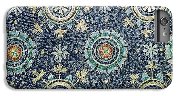 Detail Of The Floral Decoration From The Vault Mosaic IPhone 6 Plus Case