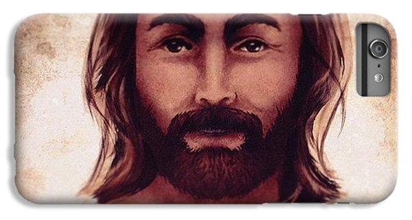 Light iPhone 6 Plus Case - Portrait Of Jesus by April Moen