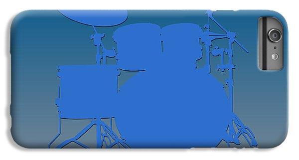Detroit Lions Drum Set IPhone 6 Plus Case by Joe Hamilton