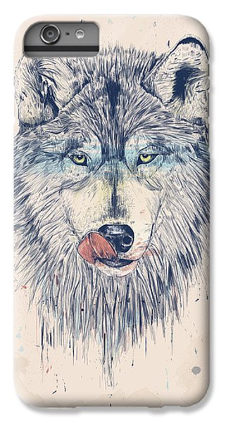 Wolves iPhone 6 Plus Case - Dinner Time by Balazs Solti