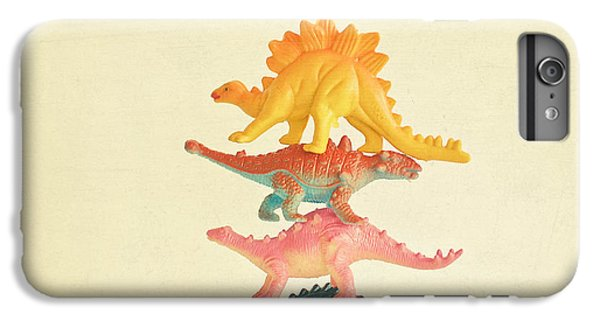 Dinosaur Antics IPhone 6 Plus Case by Cassia Beck