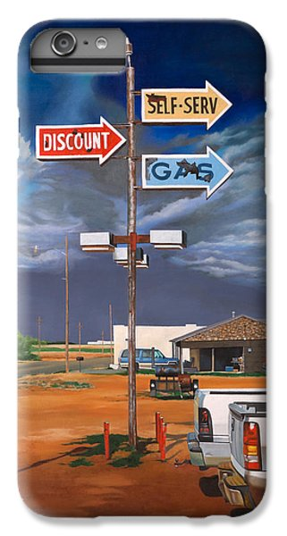 Discount Self-serv Gas IPhone 6 Plus Case by Karl Melton